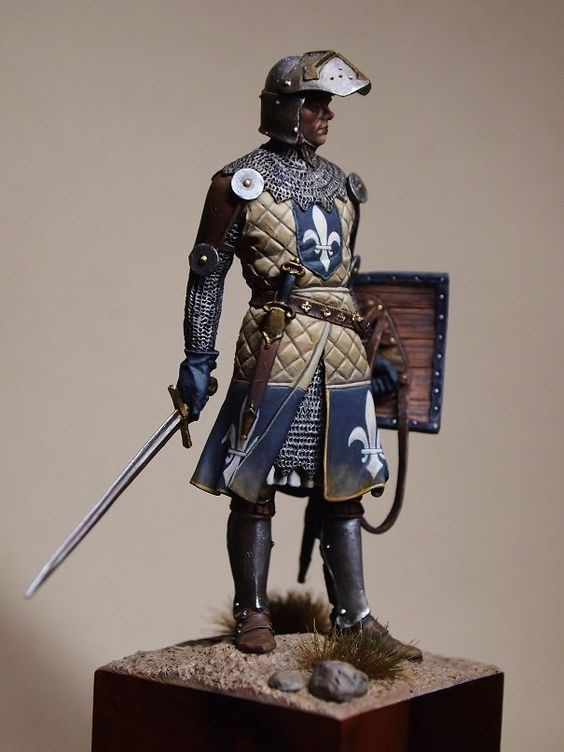 Mediaval knight in the Holyland: