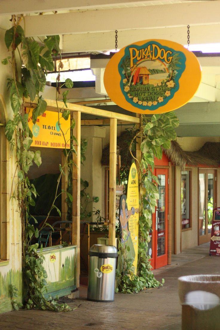 Puka Dog Restaurant in Kauai Hawaii - Hot Dogs