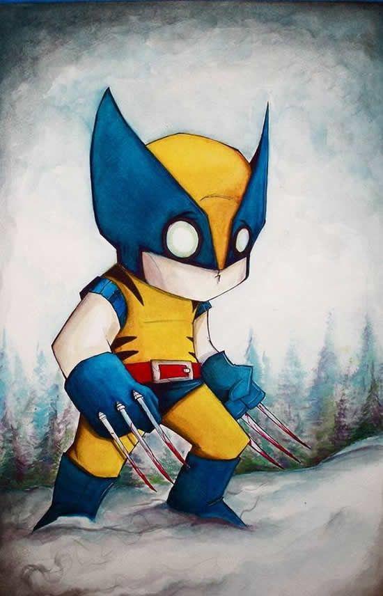 dibujos de superhéroes Extraños (16)