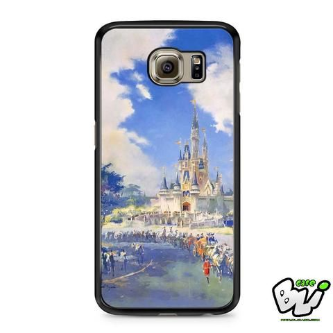 Disneyland Art Painting Samsung Galaxy S7 Case