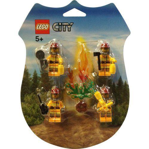 Lego 853378 City Forest Fire - Feuerwehr Zubehör Pack » LegoShop24.de