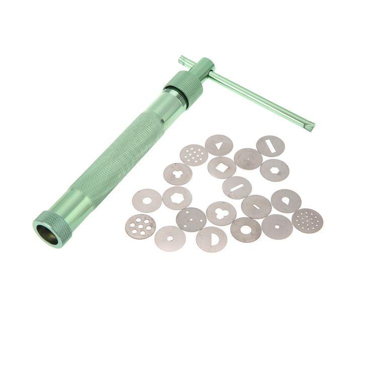 Stainless Steel Sugar Paste Extruder Craft Gun //Price: $19.95 & FREE Shipping //     #cakedecorating