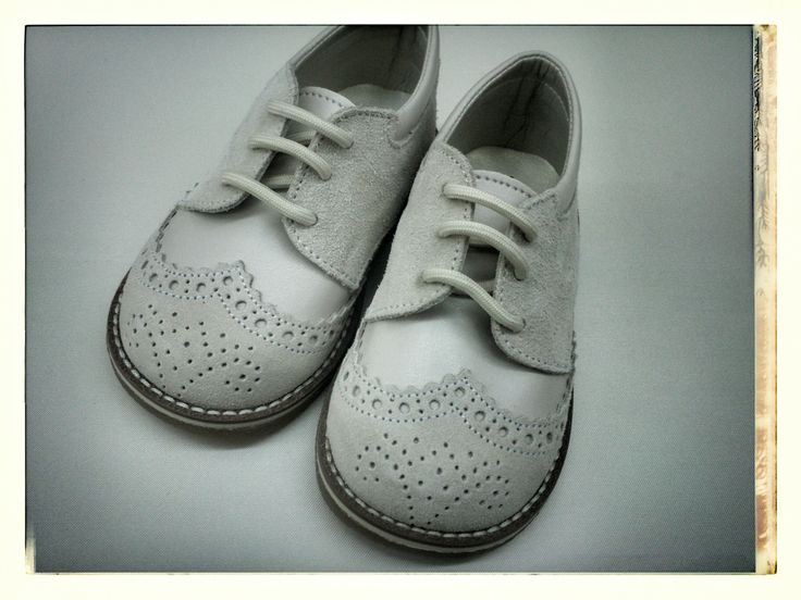 Vintage styled baby shoes