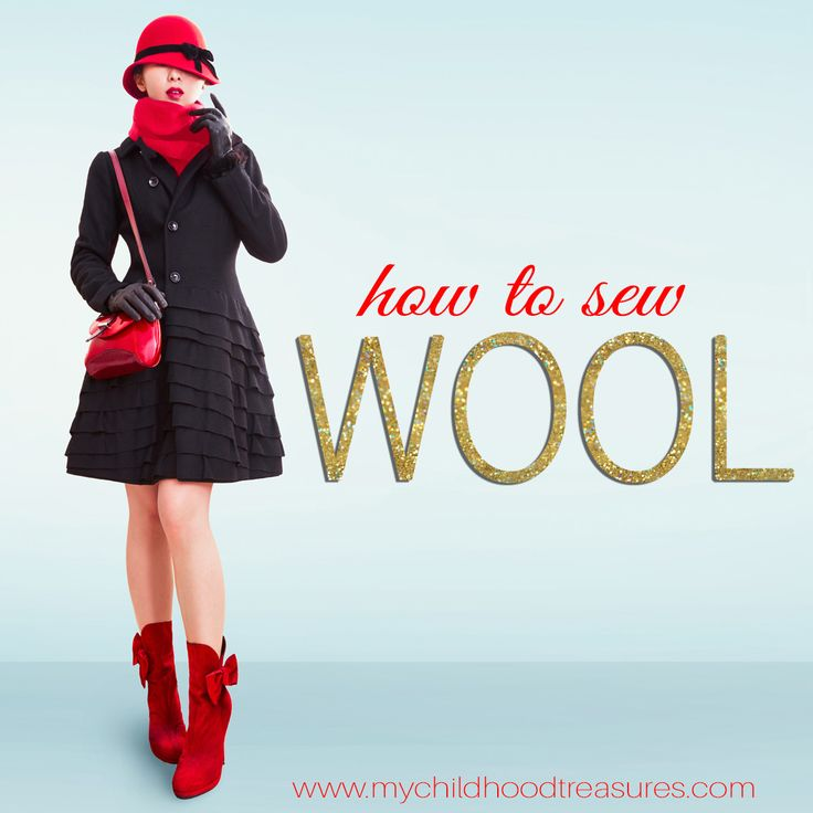 How to sew wool fabric - great tips for great results