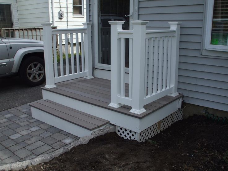 New Composite Deck and Railings