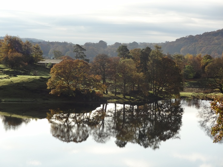 Loughrigg Tarn, The Lake District 2012, a nice day for a walk in the country