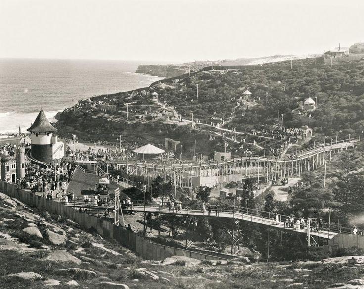 Wonderland City, Tamarama Beach, 26 Dev 1906. Photo by Wigram Allen.