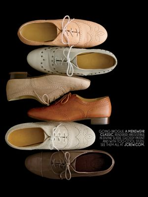 It doesn't matter where you get them or what color it is...oxfords are a staple. You can wear it with a casual outfit or you can dress it up! They are just so amazing!