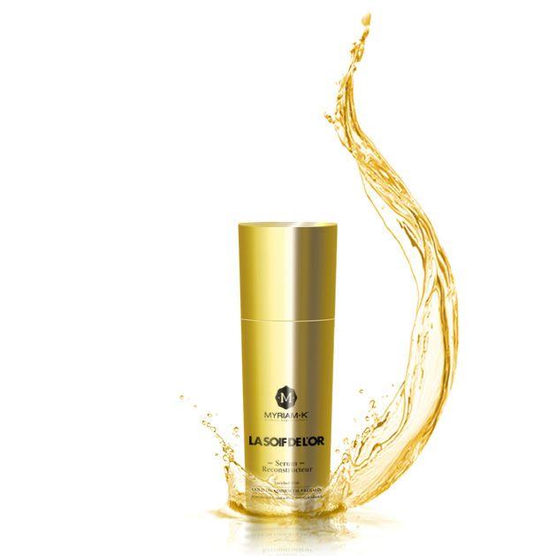 Sérum Reconstructor Soif de L'or 30 ml. Innovación y lujo son los principios básicos de este sérum exclusivo que acaricia cuidadosamente su cabello.