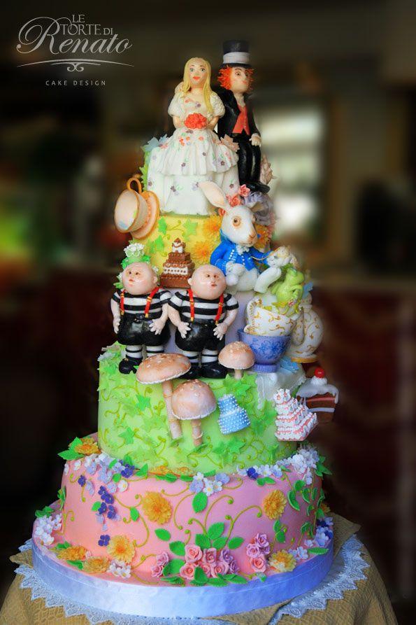 Alice in Wonderland,   Tim Burton's version   - Torte da Favola