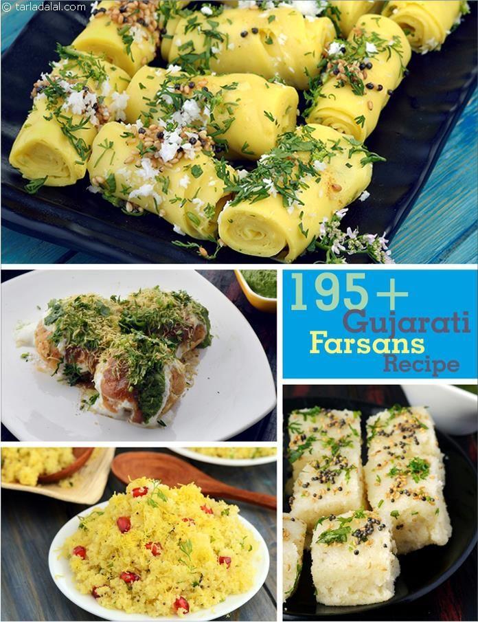 Farsan Recipe, 150 Gujarati Farsan Recipes, Gujarati