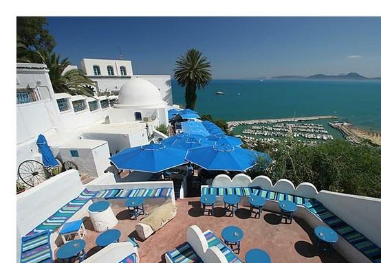 #Tunis - #Sidi Bou Said - #Café des délices - www.hexia.tn