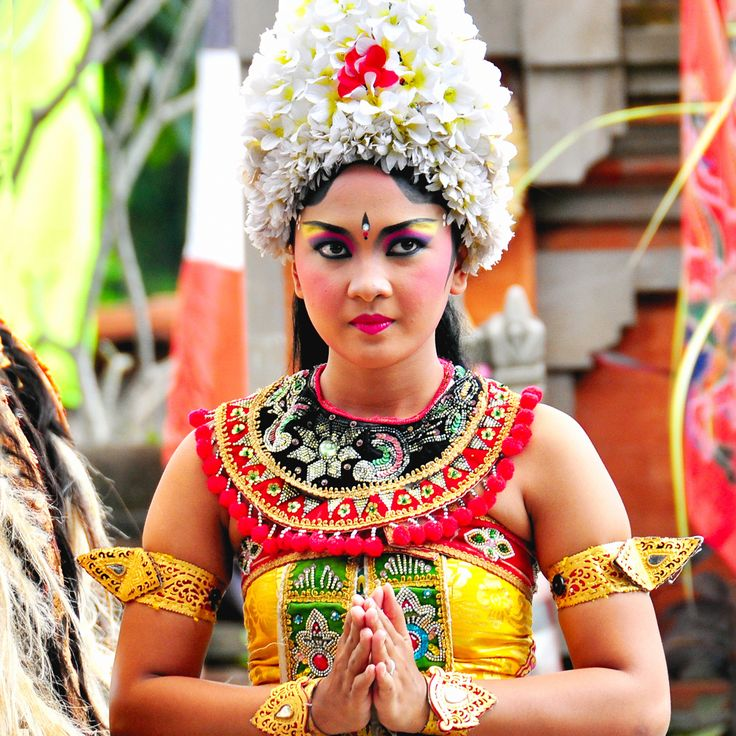A Legong dancer in Bali, #Indonesia. These performaners enact traditional stories and are perceived as high status in society. However the training is highly rigorous, beginning as early as five years old. #Odyssey #Tour #Dancer #Local #Colorful #Nice #Women #Traditional #Beautiful