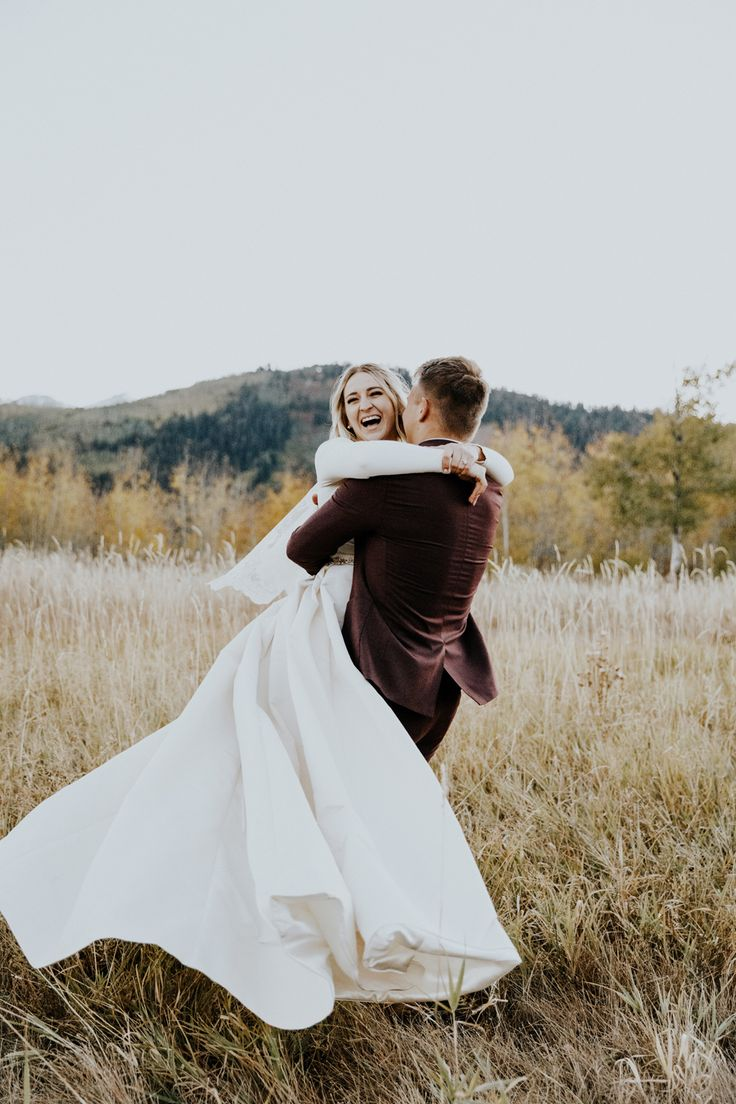 modest wedding dress with long sleeves from alta moda. -- (modest bridal gown) photo by Blake Hogge.