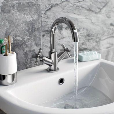 Alexa Basin Mixer + Waste