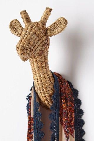 Raja Wall Bust -giraff