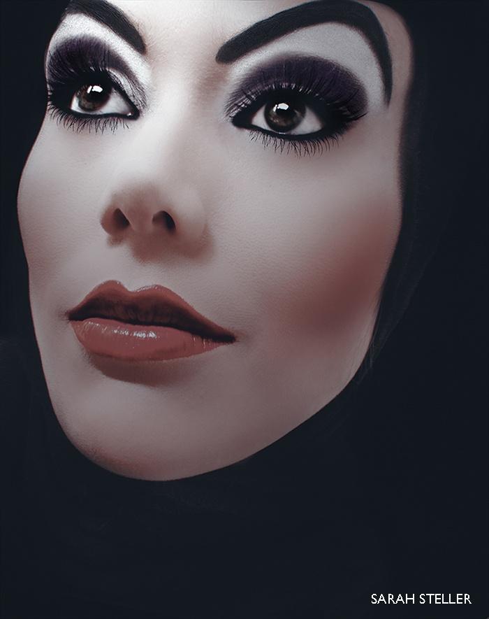 evil queen makeup - 700×885