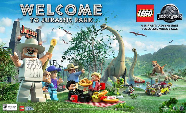 lego jurassic park video game