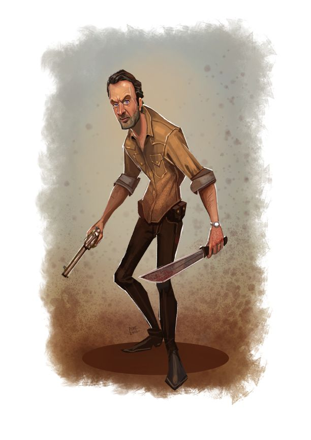 Cool Fan Art for THE WALKING DEAD, MAN OF STEEL, and More — GeekTyrant  Brandon Pike