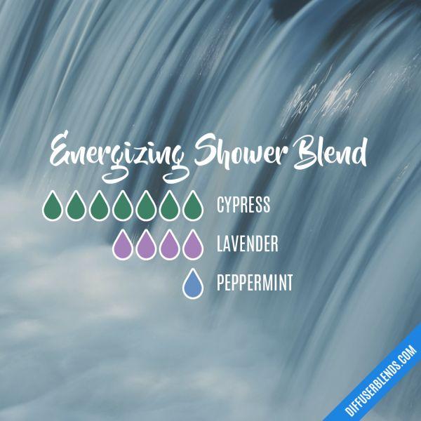 Energizing Shower Blend - Essential Oil Diffuser Blend