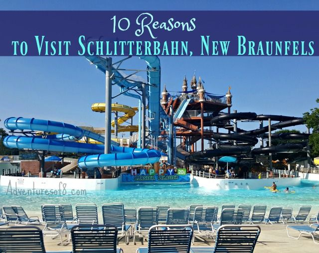 When visiting the San Antonio area, I highly suggest stopping at Schlitterbahn, New Braunfels. You can't go wrong with over 70 acres of waterpark fun.