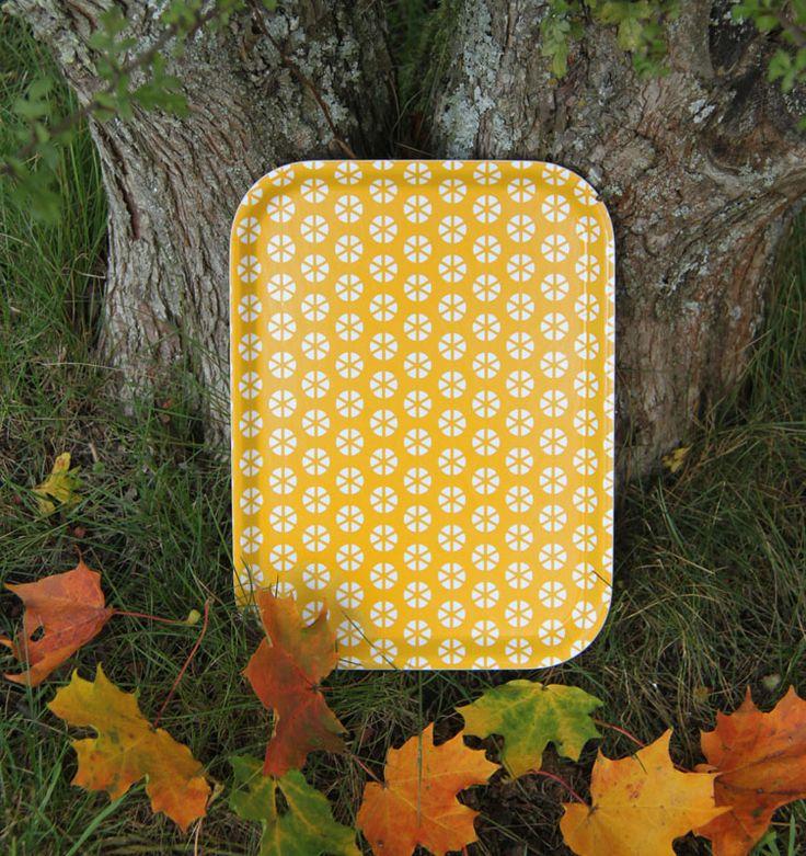 TP breakfast tray yellow by toodeloo