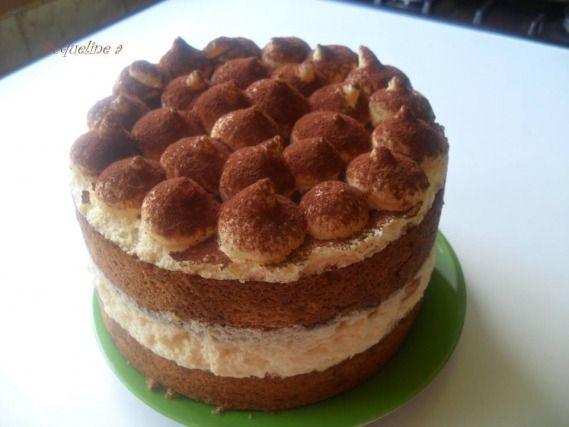 Recette - Gâteau tiramisu | 750g