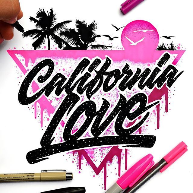 Big shoutout to @blubear209 for giving me the opportunity to work with him in this really cool project. Thanks a lot Man   #westcoast #Californialove #type #typographyinspired #typography #handmade #graphciart #inspiration #Illustration #art #inspiration #goodtype #calligritype #typegang #typeart #ilovetype #neon #sharpie #letras #Typespire #love #detail #eljuantastico #handmade @el_juantastico