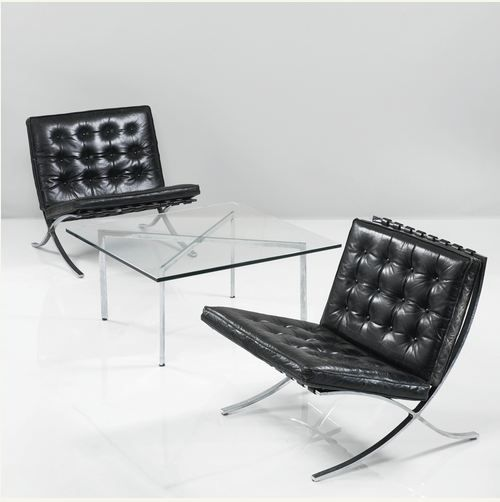ludwig mies van der rohe barcelona chairs tugendhat. Black Bedroom Furniture Sets. Home Design Ideas