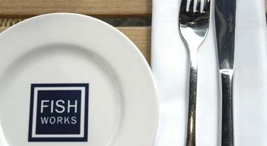 "FishWorks will be offering 10% off when a table is reserved in advance and ""Shop London"" is quoted in the booking."
