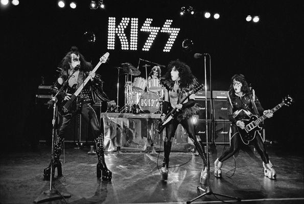 Kiss' Road to the Rock and Roll Hall of Fame Pictures - Detroit Rock City | Rolling Stone Detroit Rock City Kiss onstage at Detroit's Cobo Hall on May 16th, 1975. This was one of the shows they taped for Alive, though they later went into the studio to add in crowd noise and fix some of the musical imperfections. The exact extent of the overdubs has been debated for decades.