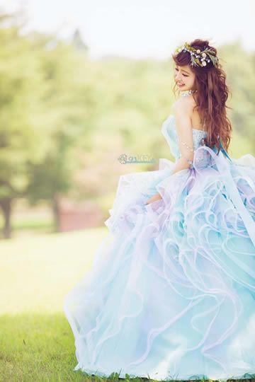 くみっきーウエディングドレス画像3