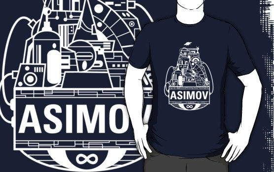 Forever Asimov (white)
