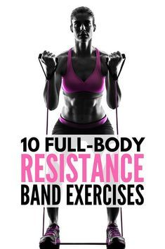 Full Body Workout with Resistance Bands: 10 Exercises to Tighten & Tone   Resistance band exercises offer a great all-in-one workout for glutes, for arms, for legs, for abs, for back, and for thighs that can be done anytime, anywhere. Perfect for weight loss and building muscle, we're sharing 10 workouts for beginners (and beyond!) to help you get back in shape from the comfort of your own home. #weightloss #resistancebands #exercise #legexcersize #fatloss #cardio #muscle #burnfat
