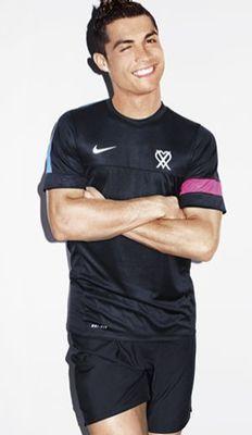 Cristiano Ronaldo, aquele sorriso suspirante