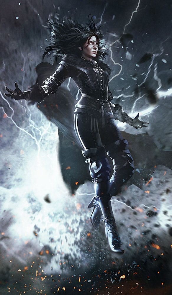 Yennefer of Vengerberg | The Witcher 3 Gwent Cards and Concept Art by Marek Madej