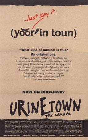 urinetown poster