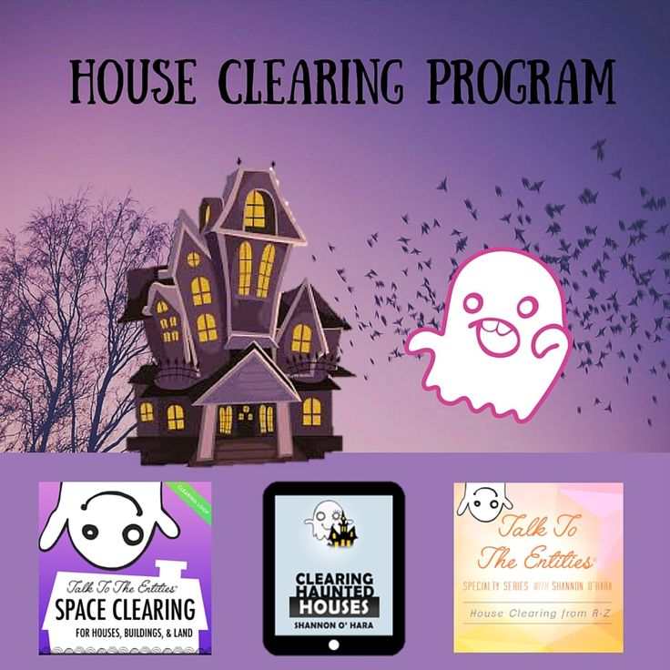 PROGRAM INCLUDES:    TTTE Specialty Series Class:  Clearing Houses from A-Z    3 x 90 minute Downloadable Tele-Calls facilitated by Shannon O'Hara   3 x Clearing Processes Audio mp3's   3 x Written Clearing PDFs     Clearing haunted Houses eBook by Shannon O'Hara   Space Clearing for Houses, Buildings