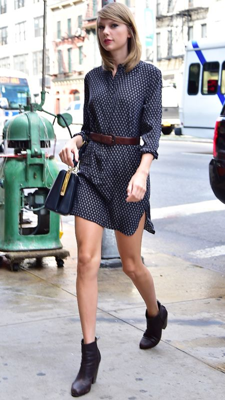 33 Reasons Why Taylor Swift Is a Street Style Pro - July 16, 2014 from #InStyle