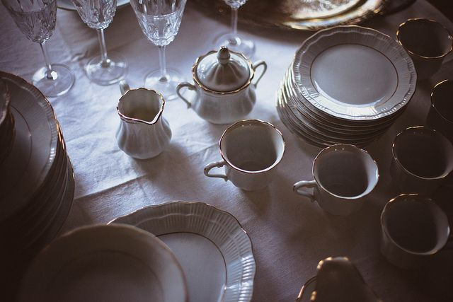 """The cup into which the tea was poured was slightly cracked down the side and threatened to let forth a gush of the hot liquid at any moment.     """"Do you think perhaps we are leading more than one life at the same time?"""" Katlyn suddenly asked her mother, something about the teacup striking this note in her."""