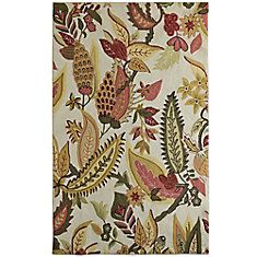 Cottage Chic 9 ft. x 12 ft. Area Rug in Autumn