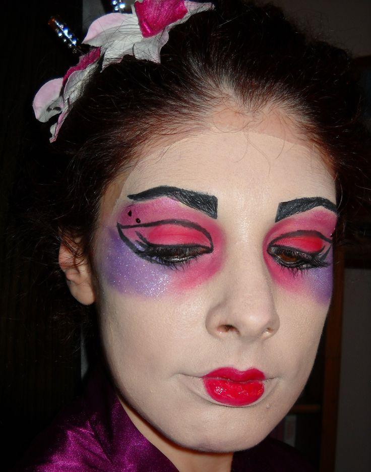 Trucco da Geisha