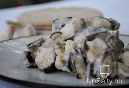 Joghurtos padlizsánsaláta | NOSALTY – receptek képekkel