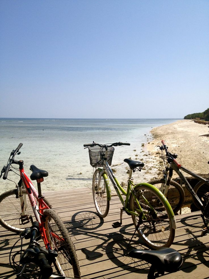 Can't wait to cycle on the Gili Islands