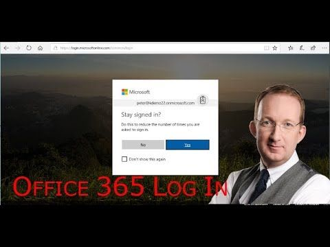 *Sign In To Office 365 and Stay Signed In* Peter Kalmström shows how to log in to Office 365 and how you can stay signed in when you have a secure computer:  https://www.kalmstrom.com/Tips/Office-365-Course/Signing-into-Office-365.htm