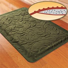 exellent kitchen cushioned floor mats mat polka intended inspiration