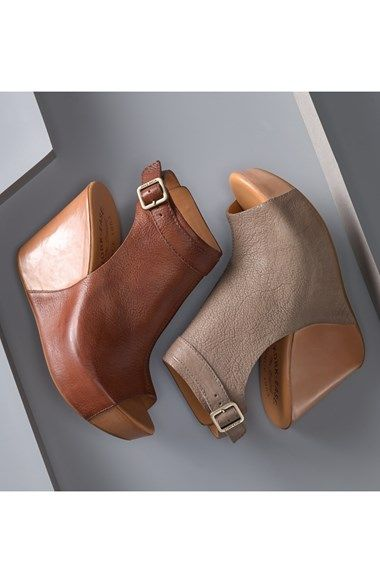 Kork-Ease™ 'Berit' Wedge Sandal (Women) | Nordstrom I can't begin to explain how amazing these are!!! Literally it's like pillows under your feet!!