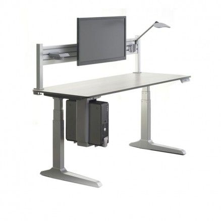 Workrite Sierra HX - Electric height adjustable stand up desk.  FREE shipping in Canada at Ugoburo.ca