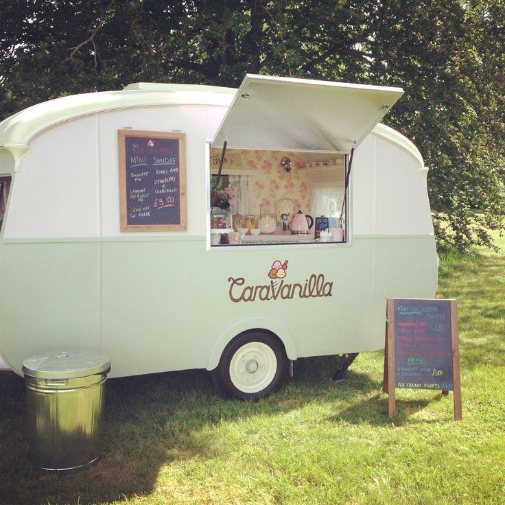 75 Best Caravan Food Ideas Images On Pinterest: 25+ Best Ideas About Ice Cream Cart On Pinterest