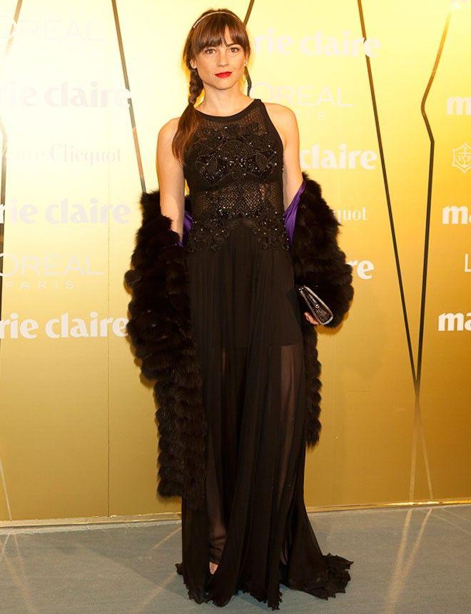 Fabulously Spotted: Leonor Watling Wearing Zuhair Murad - 'Marie Claire Prix de la Moda' Awards 2013 - http://www.becauseiamfabulous.com/2013/11/leonor-watling-wearing-zuhair-murad-marie-claire-prix-de-la-moda-awards-2013/
